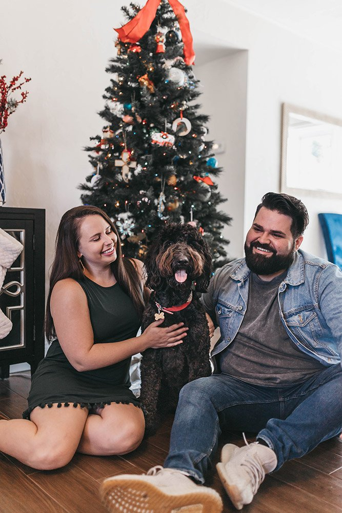Holiday Photo Sessions - Borys & Bri